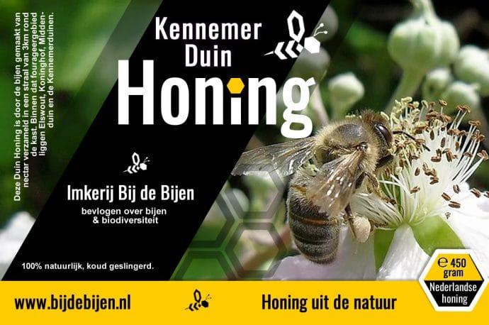 Etiket Kennemer Duin Honing