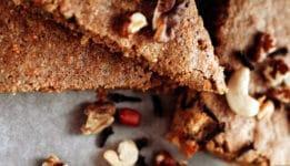 Glutenvrij honing brownie  recept