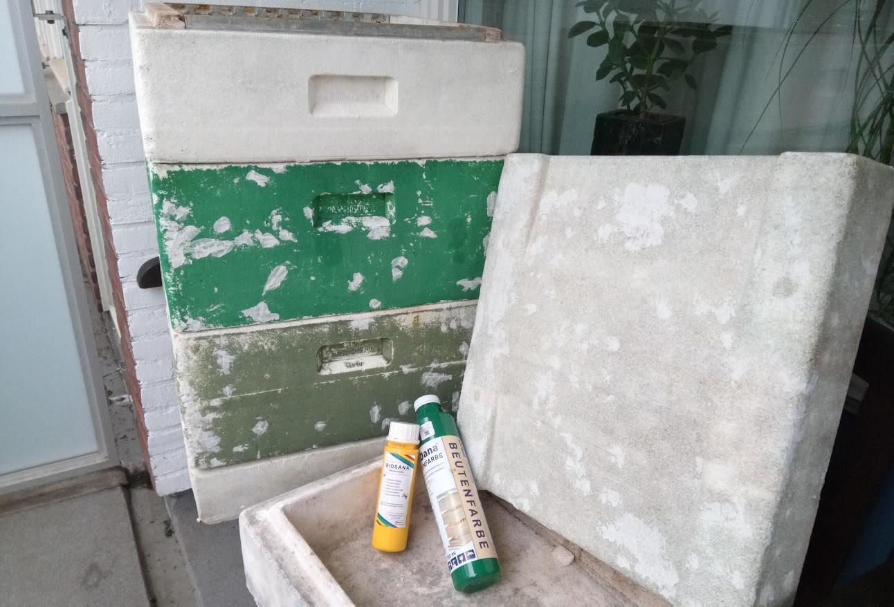 segeberger bijenkasten opknappen